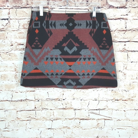 GAP Dresses & Skirts - GAP|NWT Wool Blend Southwestern Mini Skirt SZ 4